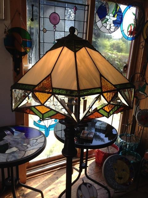 Large Multicolored lamp
