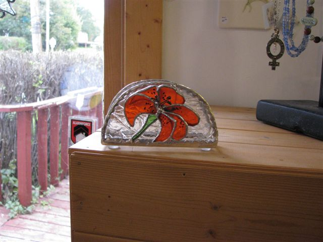 Tiger Lily Napkin Holder