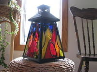 Multicolored lantern