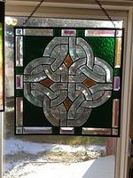 Framed bevelled Celtic Knot