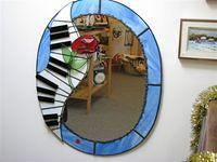 Piano mirror,large